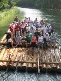 Isarfloßfahrten mit Isar-Floß-Event